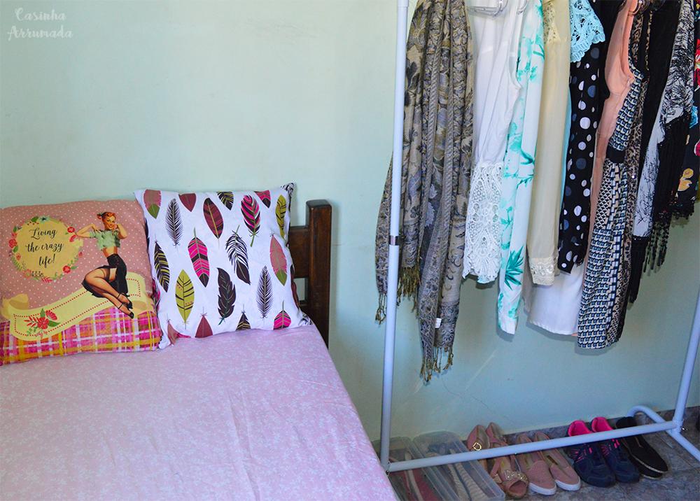 5 produtos extremamente úteis que vão ajudar você a organizar a sua casa 1 - arara