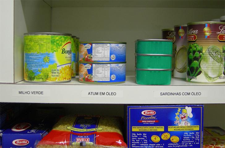 Como organizar a despensa ou o armário da cozinha 2