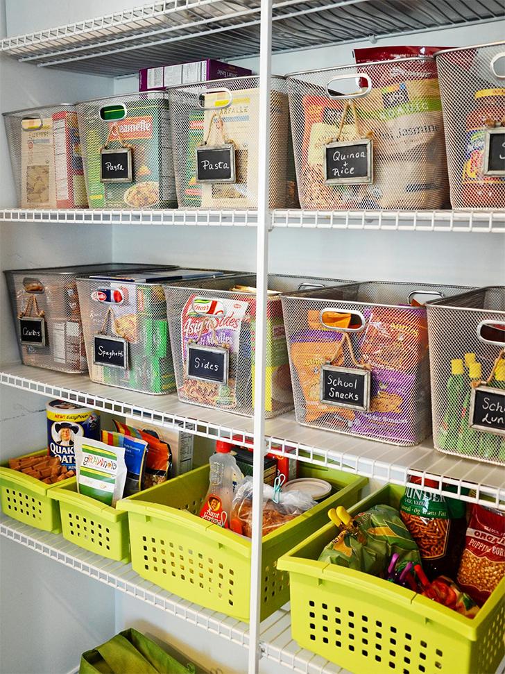 Como organizar a despensa ou o arm rio da cozinha - Como organizar armarios ...