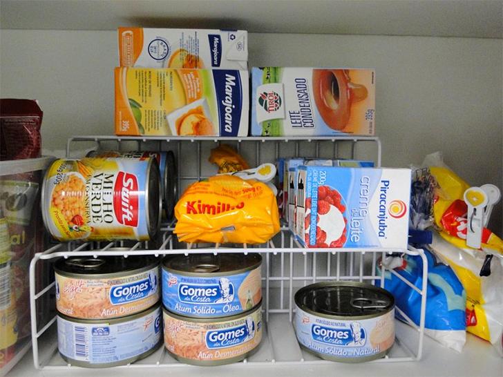 Como organizar a despensa ou o armário da cozinha 5