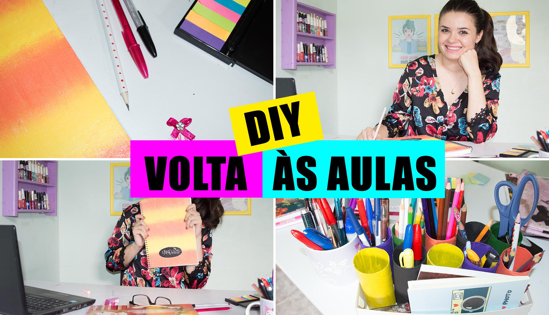 DIY VOLTA ÀS AULAS CAPA YOUTUBE