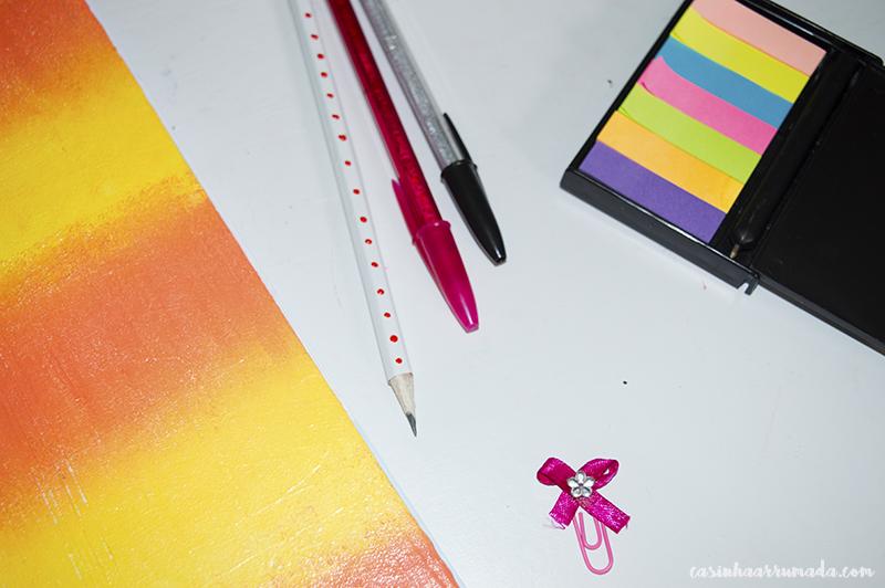 DIY: customizando o material escolar