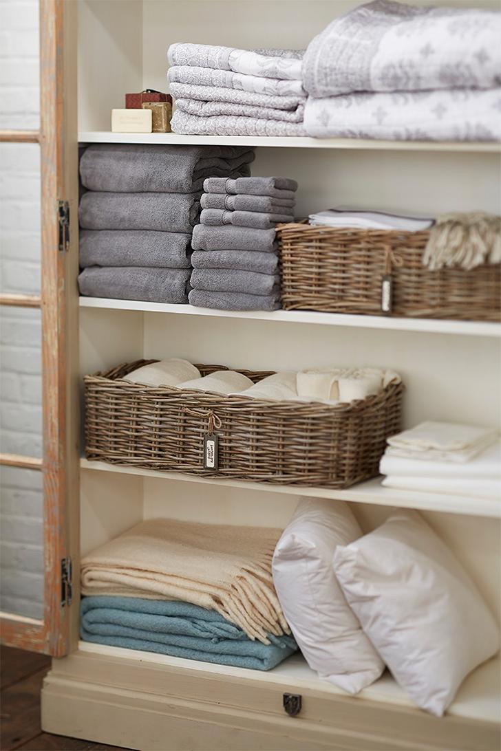 como organizar as roupas de cama mesa e banho 3
