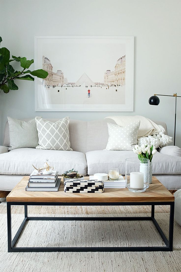 sala com sofá de 2 lugares 2
