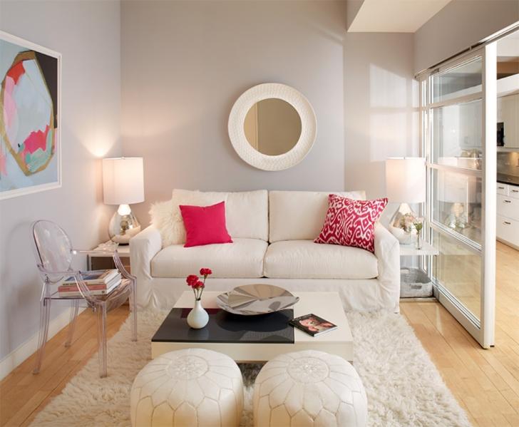 O modelo de sof ideal para salas pequenas casinha arrumada for Idea decorativa sala de estar pequeno espacio