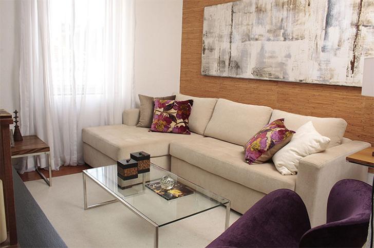 Tamanho Ideal De Tv Para Sala Pequena ~ modelo de sofá ideal para salas pequenas  Casinha Arrumada