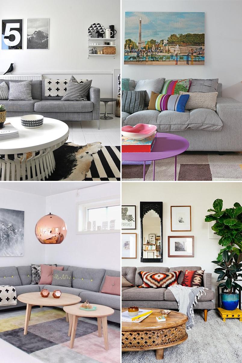 Sala De Estar Sofa Cinza ~ Outro ponto importante é que o sofá cinza , ao contrário de outros