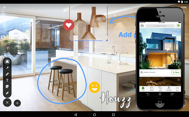 Aplicativos que são aliados na hora de decorar a casa - Houzz Interior Design Ideas