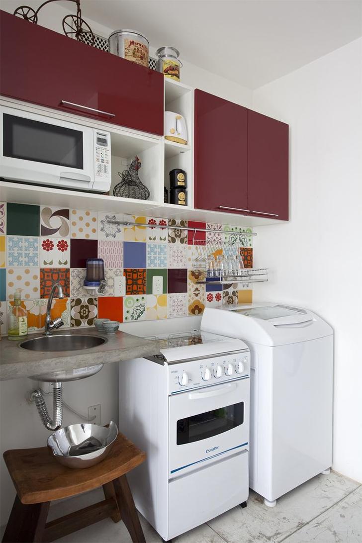 decorar uma cozinha : decorar uma cozinha:COMO DECORAR COZINHAS PEQUENAS: 10 DICAS E 20 MODELOS PARA VOCÊ SE