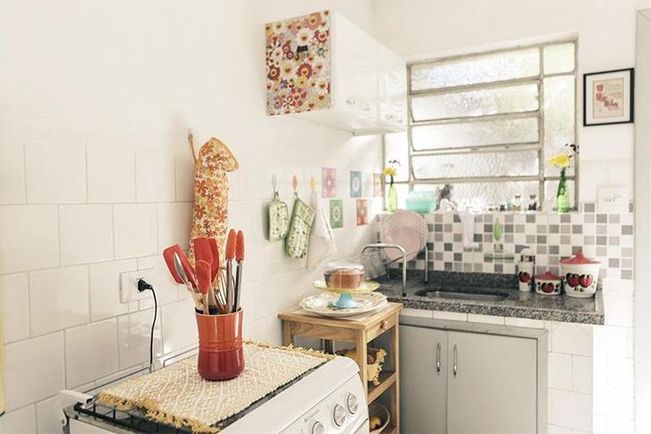 Como decorar cozinhas pequenas 10 dicas e 20 modelos para você se inspirar  # Decorar Cozinha Diy