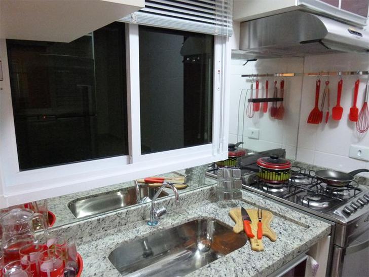 Ideias para cozinhas pequenas