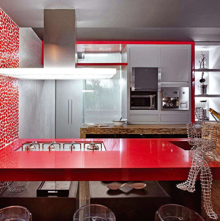 Amado Cores na decoração: cozinha vermelha - Casinha Arrumada JR49