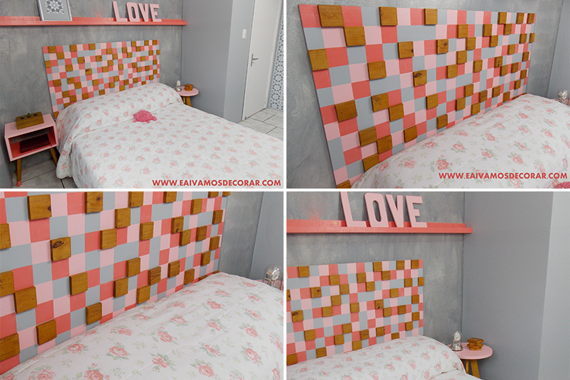 DIY cabeceiras para cama que você mesma pode fazer 2