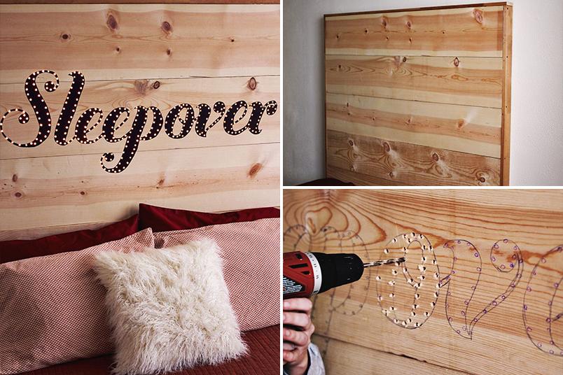 DIY cabeceiras para cama que você mesma pode fazer 4