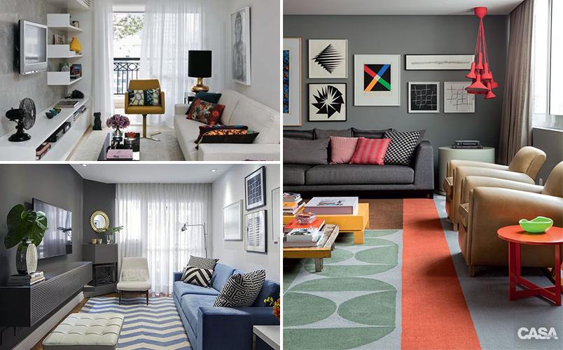 Dicas para decorar seu apartamento alugado casinha arrumada for Como amueblar apartamento pequeno