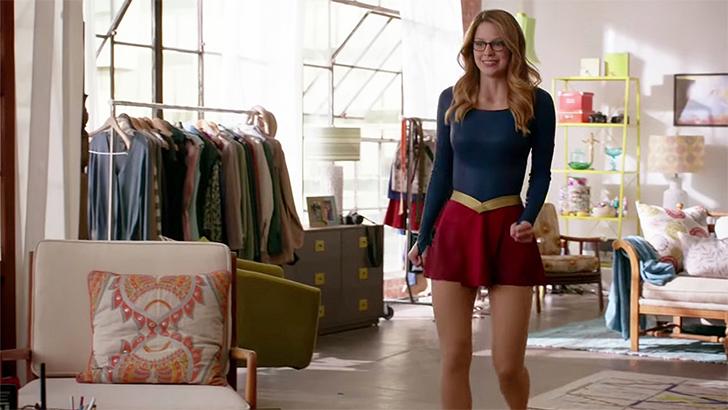 SuperGirl Kara's apartment decor 4