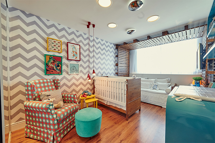 Inspirações para montar e decorar o quarto do bebê  ~ Quarto Pequeno Vintage