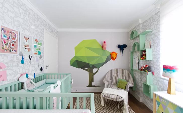 como montar e decorar o quarto do bebê 12
