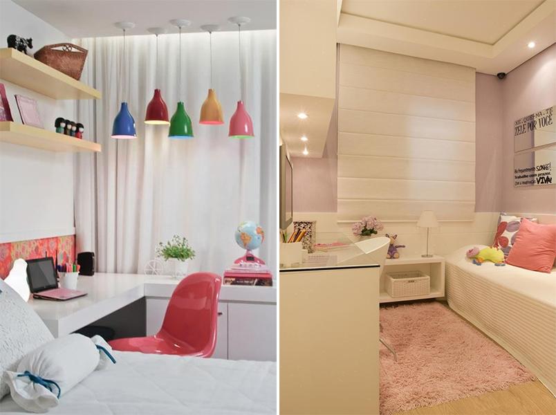 Como decorar um quarto pequeno 20 quartos pequenos para - Decorar recibidores pequenos ...