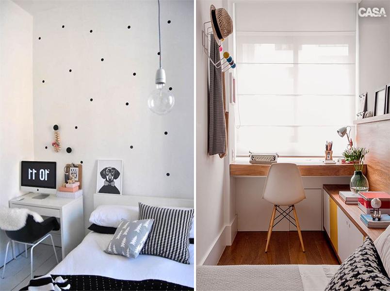 20 quartos pequenos para você se inspirar 6