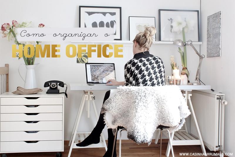 como organizar o home office 7