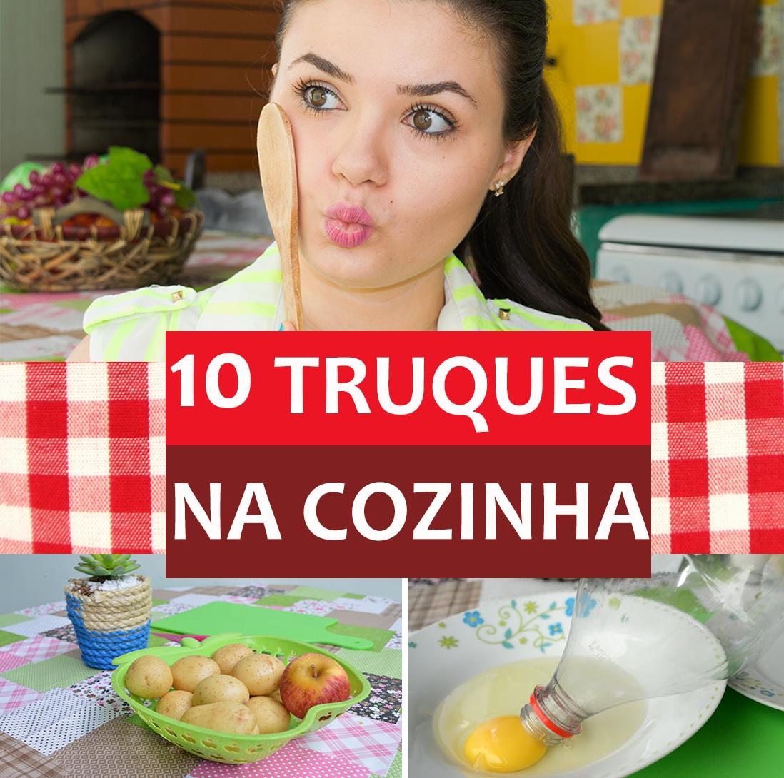 10 TRUQUES na cozinha que você precisa saber