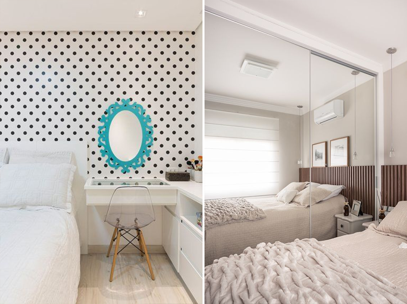 20 quartos pequenos para você se inspirar 10