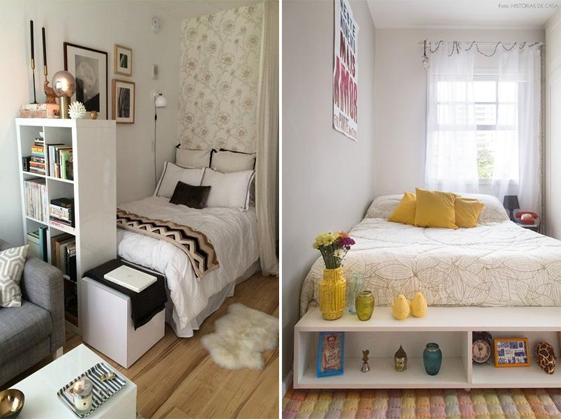 Como decorar um quarto pequeno 20 quartos pequenos para for Decoracion de apartamentos pequenos 2016