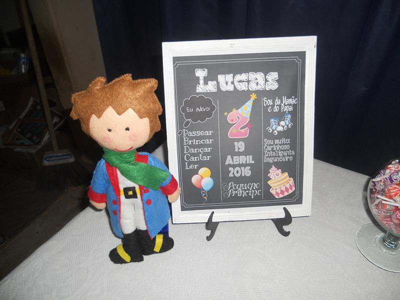 Festa Infantil Menino Tema O Pequeno Príncipe 6
