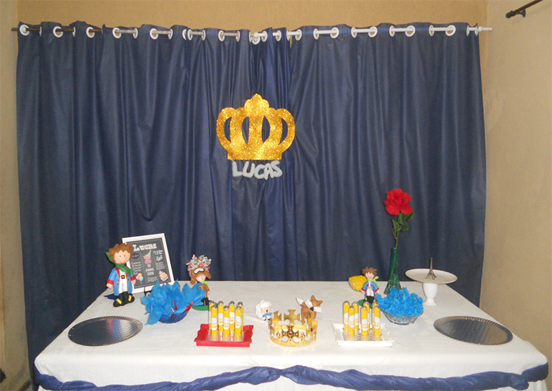 Festa Infantil Menino Tema O Pequeno Príncipe 8