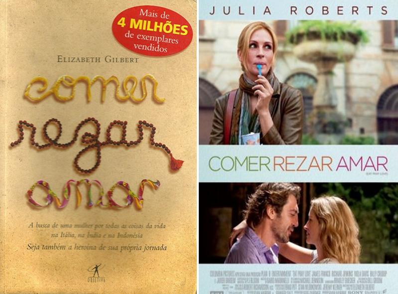 Livro Comer, Rezar, Amar Elizabeth Gilbert 2