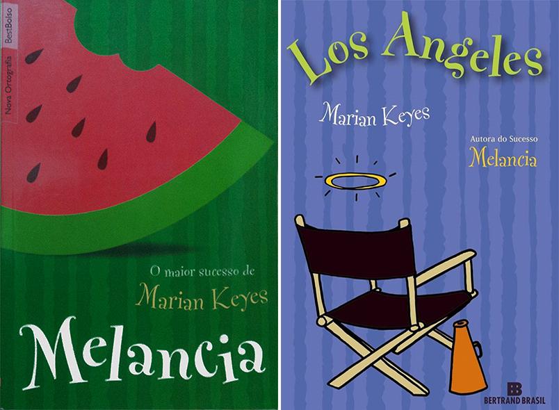 Livros Melancia e Los Angeles Marian Keyes