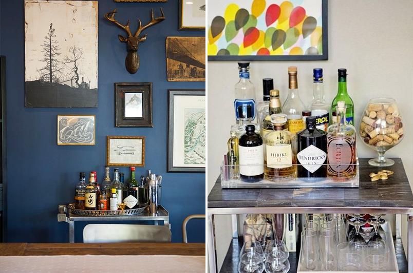 Como decorar apartamento masculino casinha arrumada - Como decorar un bar pequeno ...