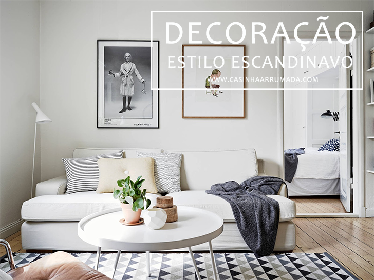 Decora o estilo escandinavo casinha arrumada for Cortinas estilo escandinavo