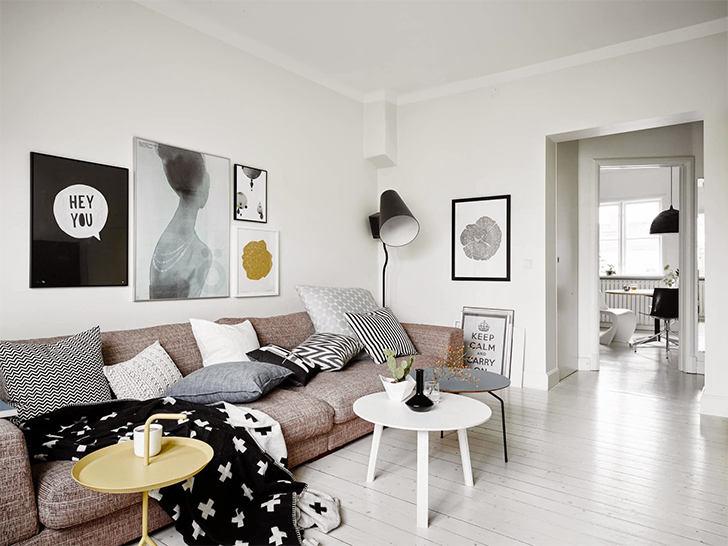 Decora o estilo escandinavo casinha arrumada - Cabecero estilo escandinavo ...