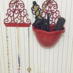 Transformando achados de R$1.99 em decoração #3 Porta-colar
