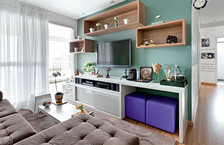 7 soluções para fazer ambientes pequenos parecerem maiores do que são 10