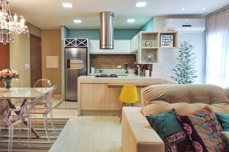 7 soluções para fazer ambientes pequenos parecerem maiores do que são 3