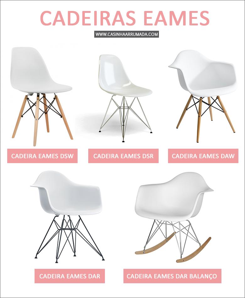 Cadeiras Eames na decoração 1