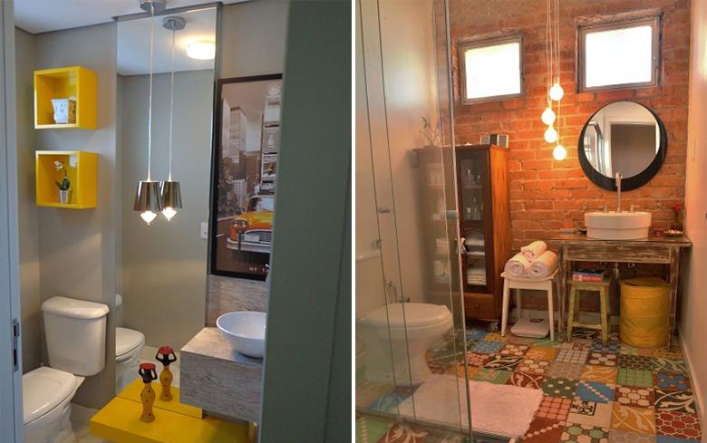 Dicas para decorar o banheiro gastando pouco  Casinha Arrumada -> Banheiro Decorado Com Pouco Dinheiro