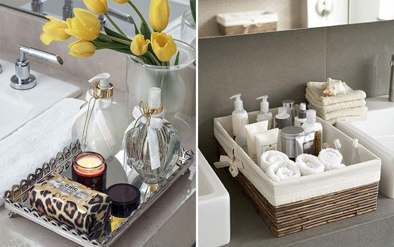 Dicas para decorar o banheiro gastando pouco  Casinha Arrumada -> Como Decorar Banheiro De Forma Barata
