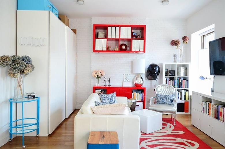Inspiração para pequenos espaços 50 metros quadrados de charme e boas ideias 3