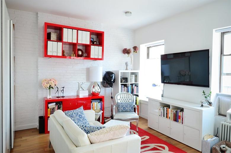 Inspiração para pequenos espaços 50 metros quadrados de charme e boas ideias 4