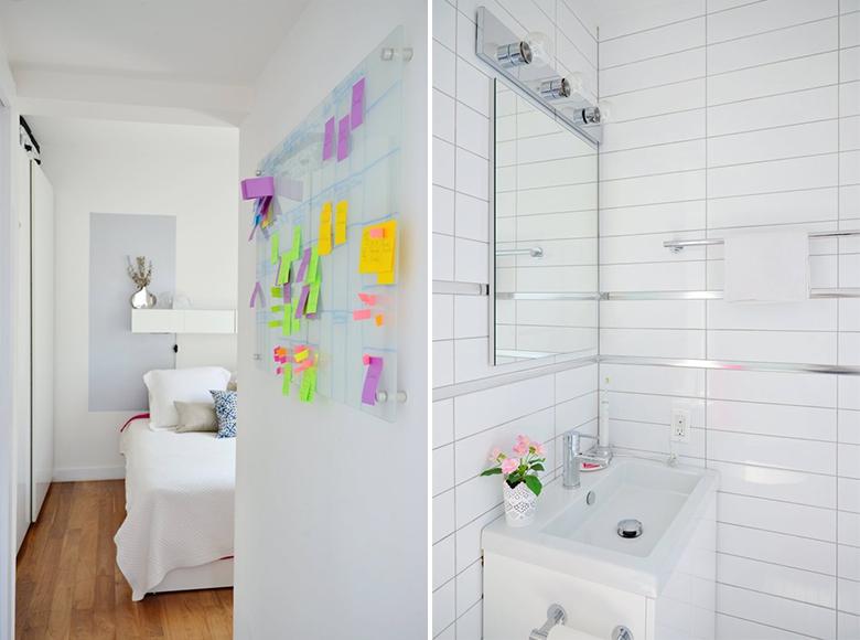 Inspiração para pequenos espaços 50 metros quadrados de charme e boas ideias 6