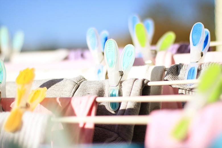símbolos de lavagem de roupas das etiquetas
