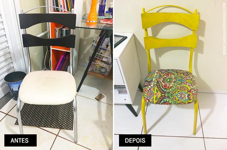 como repaginar uma cadeira velha e sem charme