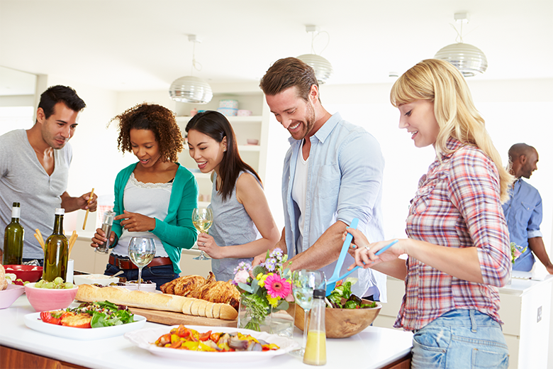 Como organizar uma festa Open House chá de casa nova