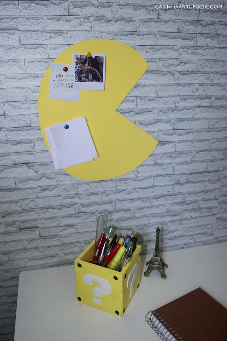 DIY Decoração Games 4 Mural Pac-Man