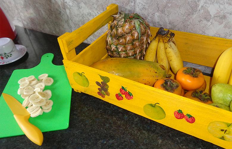 DIY com caixote de feira 5 Fruteira de caixote de feira
