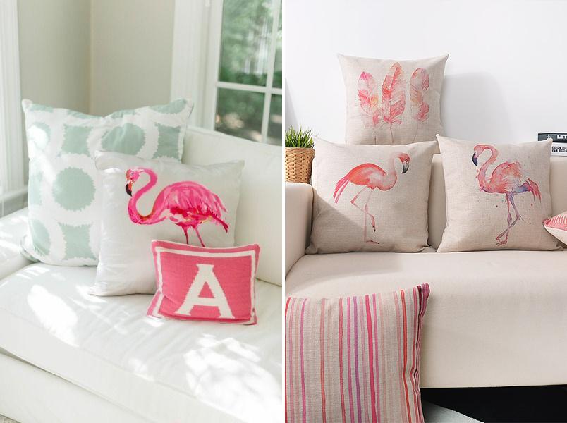 Decoração com flamingos 2